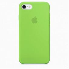 Чехол iPhone 7/8 Silicone Case яркий зеленый