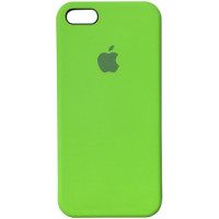 Чехол iPhone 5S/SE Silicone Case салатовый
