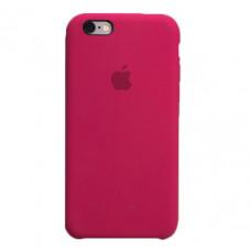 Чехол iPhone 6/6S Silicone Case малиновый