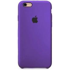 Чехол iPhone 6/6S Silicone Case фиолетовый