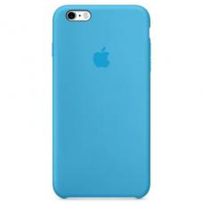 Чехол iPhone 6/6S Silicone Case голубой
