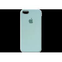 Чехол iPhone 5S/SE Silicone Case зеленая лагуна