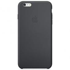Силиконовый чехол iPhone 6/6S черный
