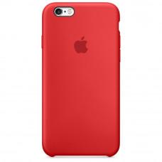 Чехол iPhone 6 Plus/6S Plus Silicone Case красный