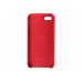 Чехол iPhone 5S/SE Silicone Case красный