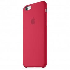 Чехол iPhone 6 Plus/6S Plus Silicone Case малиновый
