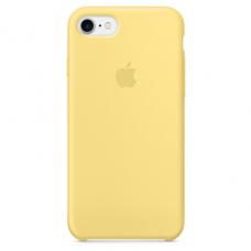 Чехол iPhone 7/8 Silicone Case желтый