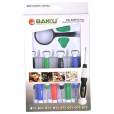 Набор отверток с лупой и медиаторами BAKU BK-8600