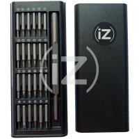 Набор отверток IZ-6024 (24 в 1) для ремонта iPhone, Samsung, Xiaomi