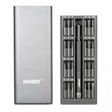 Отвертка с набором бит Jakemy JM-8168 (24шт)