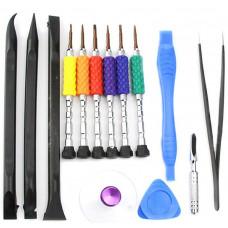 Набор инструментов Sunshine SS-5115 (6 отверток, пинцет, присоска, спуджеры и медиаторы)