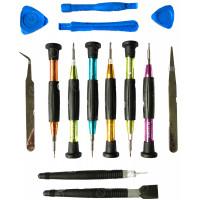 Набор инструментов SW-1688 (Отвертки, медиаторы, пинцеты, лопатки)