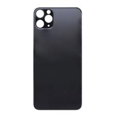 Стекло корпуса заднее iPhone 11 Pro MAX (серый космос)