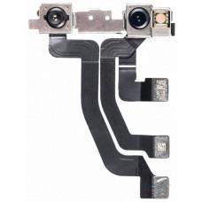 Шлейф верхний iPhone 11 Pro Max с фронтальной и инфракрасной камерами