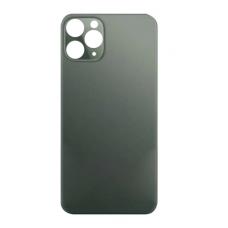 Стекло корпуса заднее iPhone 11 Pro MAX (темно-зеленое)