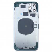 Корпус iPhone 11 Pro MAX (темно-зеленый) с CE