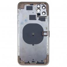 Корпус iPhone 11 Pro MAX (золотой) с CE