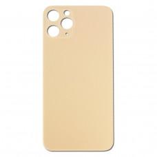 Стекло корпуса заднее iPhone 11 Pro MAX (золотое)