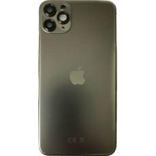 Корпус iPhone 11 Pro (темно-зеленый) с CE