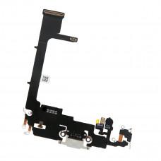 Шлейф нижний с разъемом зарядки iPhone 11 Pro белый