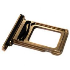 Лоток сим (2-SIM) карты iPhone 11 Pro золотой