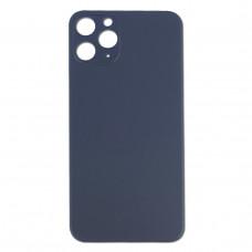 Стекло корпуса заднее iPhone 11 Pro (серый космос)
