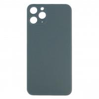 Стекло корпуса заднее iPhone 11 Pro (темно-зеленое)