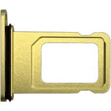 Лоток сим (SIM) карты iPhone 11 желтый