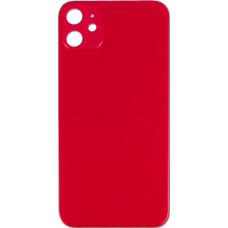 Стекло корпуса заднее iPhone 11 (красное)
