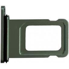 Лоток сим (SIM) карты iPhone 11 зеленый