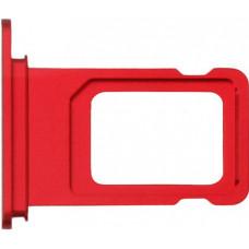 Лоток сим (SIM) карты iPhone 11 красный
