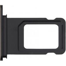 Лоток сим (SIM) карты iPhone 11 черный