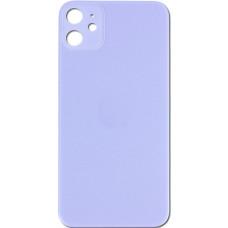 Стекло корпуса заднее iPhone 11 (Фиолетовое)