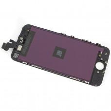 Дисплей iPhone 5 черный (модуль, в сборе, OEM)