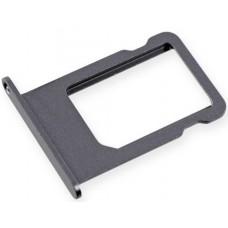 Лоток сим (SIM) карты iPhone 5 черный