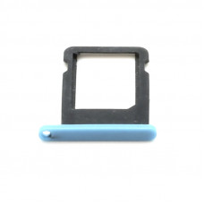 Лоток сим (SIM) карты iPhone 5С синий