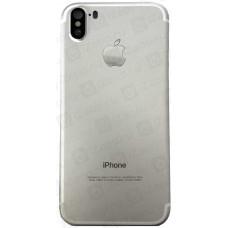 Корпус iPhone 5 в стиле iPhone X серебро