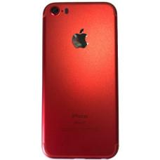 Корпус iPhone 5 как iPhone 7 красный Product RED
