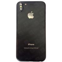 Корпус iPhone 5 в стиле iPhone X черный матовый