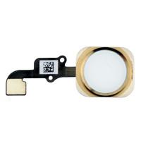 Кнопка HOME iPhone 6/6 Plus золотая