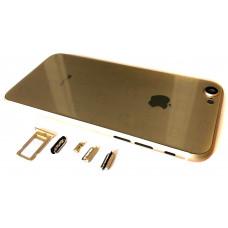 Корпус iPhone 7 как iPhone 8 (золотое стекло)