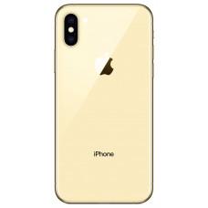 Корпус iPhone 6S как iPhone X (золотое стекло)