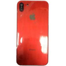 Корпус iPhone 6S в стиле iPhone X (красное стекло)