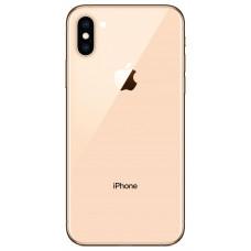 Корпус iPhone 6 в стиле iPhone X (розовое стекло)