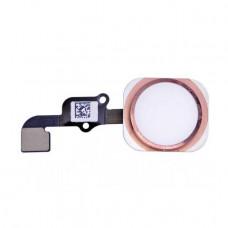 Кнопка HOME iPhone 6S/6S Plus розовая
