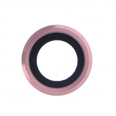 Стекло задней камеры iPhone 6S Plus (Розовый)