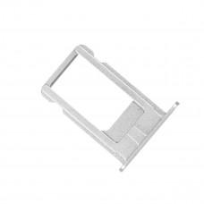 Лоток сим (SIM) карты iPhone 6S белый/серебристый