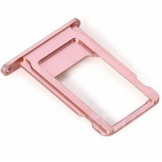 Лоток сим (SIM) карты iPhone 6S розовый