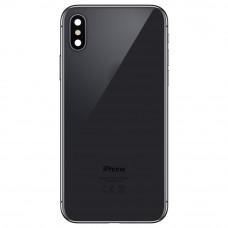 Корпус iPhone 7 как iPhone X (черное стекло)