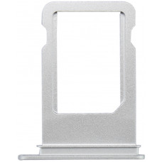 Сим лоток iPhone 7 Plus белый/серебристый